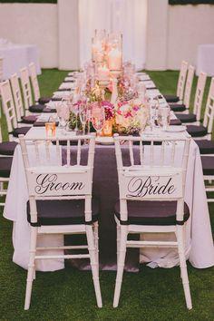 elegant purple reception, photo by Dave Richards, styling by Celebrations of Joy http://ruffledblog.com/elegant-palm-springs-wedding #purple #receptions #wedding