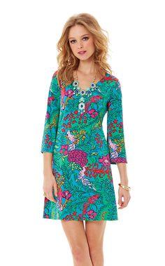 Jade V-Neck Tunic Dress