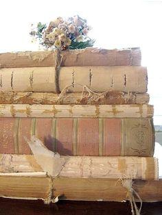 Vintage Book Decor