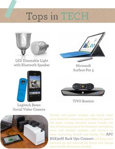 Top tech picks for h