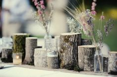 Lucy & David | Rustic Wedding #wedding #table #decor #rustic #woodland