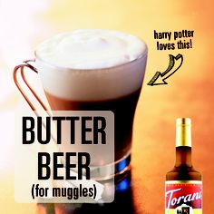 Make your own ButterBeer! (Non-alcoholic) // Made with Torani