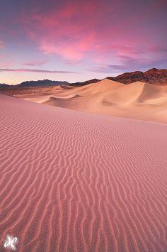 Ibex Sand Dunes, Death Valley National Park, California