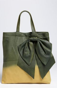 RED Valentino Dyed Bow Tote