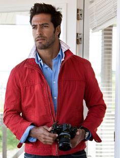 jacket, dream man, fall fashions, beto malfacini, color combos