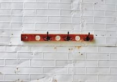 antiqu repurpos, antiqu wooden, wall hook