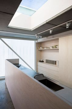 Slip House, London, by Carl Turner Architects