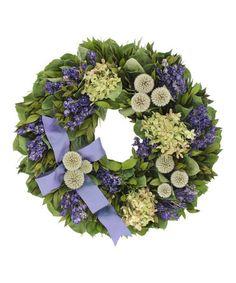 Love this 16'' Somerset Manor Wreath on #zulily! #zulilyfinds