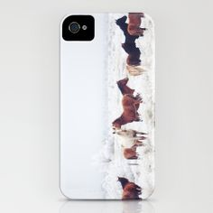Winter Horseland iPhone Case - oh they have a case too!