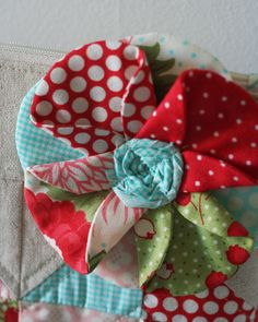 love this fabric flower