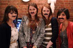 mustache party, parties, mustach parti