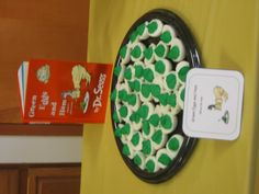 Dr. Seuss Theme Birthday Party Complete with Green Eggs!