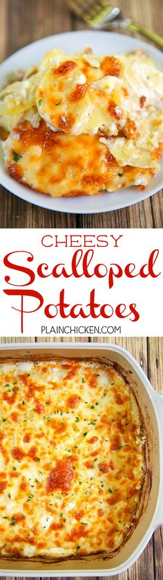 Cheesy Scalloped Pot