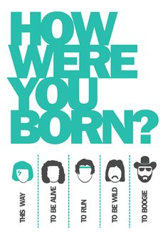 How were you born? Birthday Card | Open Me