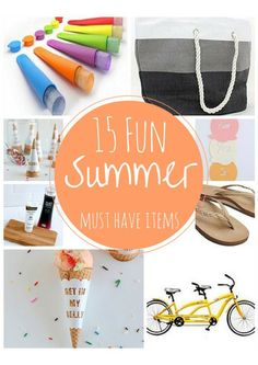 15 Fun Summer Must H