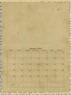free calendar, calendario 2013, 2013 imprim, scrapbook idé, calendar printabl, gina design