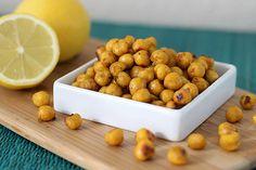 lemon curry roasted chickpea recipe