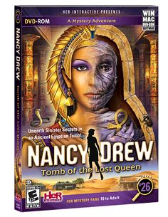 @Lindsay Justice Nancy Drew: Tomb of the Lost Queen  #nancydrew
