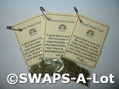 Mini Good Deed Dust SWAPS Kit for Girl Kids Scout makes 25