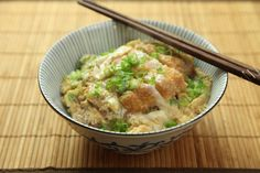 This Japanese katsudon—fried cutlet and egg rice bowl—is the best use you're ever gonna get out of leftover fried chicken or pork cutlets.