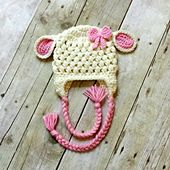 Ravelry: Crochet Lamb Hat pattern by The Pattern Girl