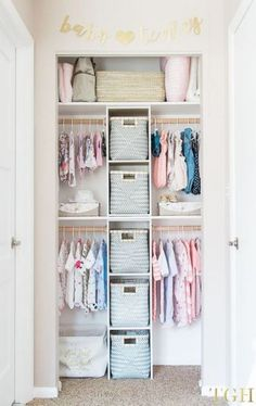 New kids closet organization ideas small spaces Ideas #organization #closet