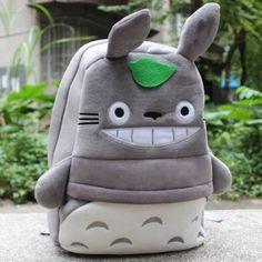 UMMmmm YES! My Neighbor Totoro Plush Backpack Schoolbag