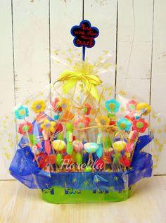 Bouquet de Chuches.  http://florelilaysusrecetas.blogspot.com.es
