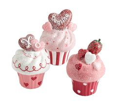 Pier 1 Decorative Cupcakes sweeten any Valentine's Day display