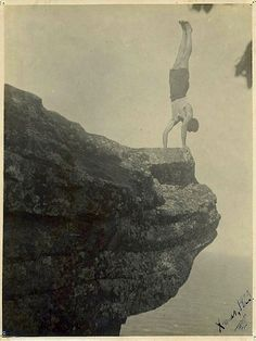 During the Christmas season of 1923, Dr. Hartley D. Price was doing handstands on the edge of a precipice in Australia.