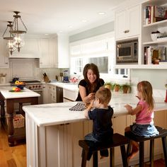 Long Narrow Kitchen Dining Design Ideas, Pictures, Remodel, and Decor