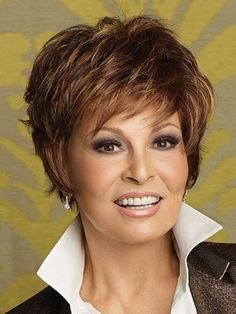 color, short hairstyles, short cuts, short style, beauti, hair style, haircut, wigs, raquel welch