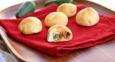 dip, party poppers, appetizer recipes, crescent rolls, appetizers, jalapeno popper bites, snack, green onions, jalapeno poppers
