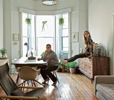 French By Design: House Tour : Back to basic in Brooklyn