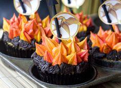 birthday, games, idea, cupcakes, hunger game, food, game cupcak, yummi, parti