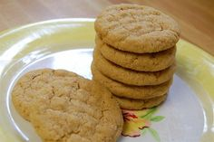 Whole Wheat Peanut Butter Cookies - Soup Night: Recipes
