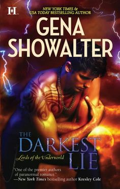 The Darkest Lie (Lords of the Underworld #6)  by Gena Showalter