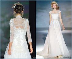 ¡Un look con tocado para novias elegantisimas!