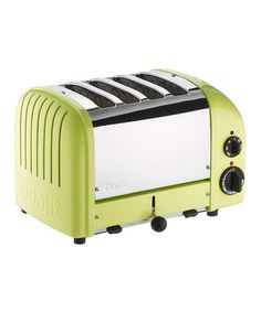 Take a look at this Lime Green Classic Four-Slice Toaster by Dualit on #zulily today!