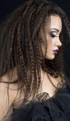 Crimped Hair-