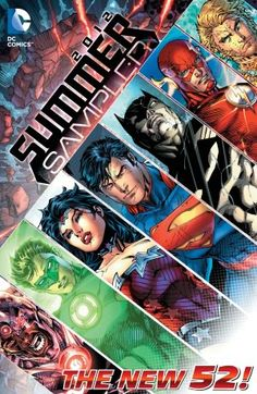 DC Comics: The New 52 Summer Sampler (Nook Comics with Zoom View)