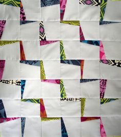 LOVE this Lightning Zigzags design by Jenn of all trades. tutorial