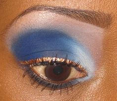 Blue Christmas | Eye Makeup Ideas