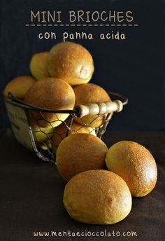 Brioches con panna acida by MentaeCioccolato, via Flickr