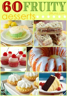 60 Mouth-Watering FRUITY desserts!