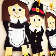 Pilgrim Craftivity!!
