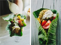 Baked herb and pistachio falafel // I followed this recipe quite closely save for the mint, which I didn't have on hand and used the parsley instead of cilantro. These are fresh, filling and the taste is great! Not to mention they are quick (less than 30 min) cheap and easy to make. I like to serve them in whole wheat pitas with tsatziki, lettuce, feta and cucumbers.They're a real favourite in our house!
