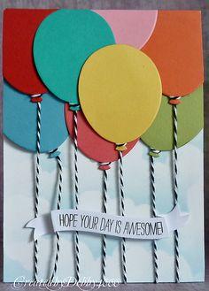 balloon card - bjl