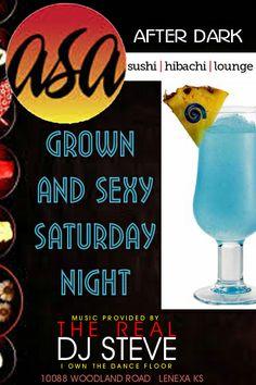 Semi-regular gig at Asa Sushi Lounge, Lenexa KS