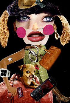 Magazine collage: Surrealism
